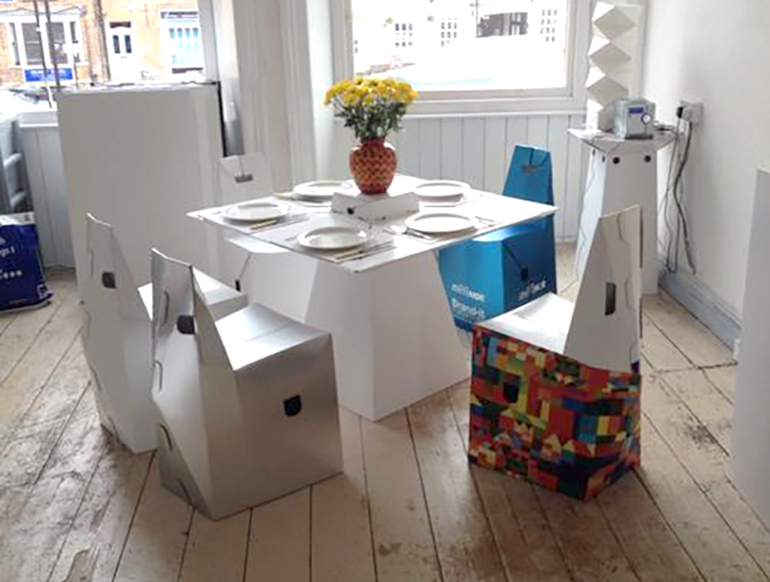 Cardboard Household Furniture